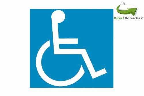 Placa de acessibilidade