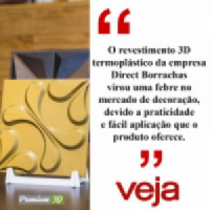 A empresa Direct Borrachas é referência em vendas de revestimentos Premium 3D